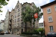 Das Mehrfamilienhaus Burgstrasse 74. (Bild: Marco Cappellari)