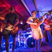 Al-Berto and the fried Bikinis bei einem Konzert im Yucatan in Engelberg. (Bild: PD)