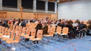 Beim Bevölkerungsgespräch in Grabs blieben viele Stühle leer.