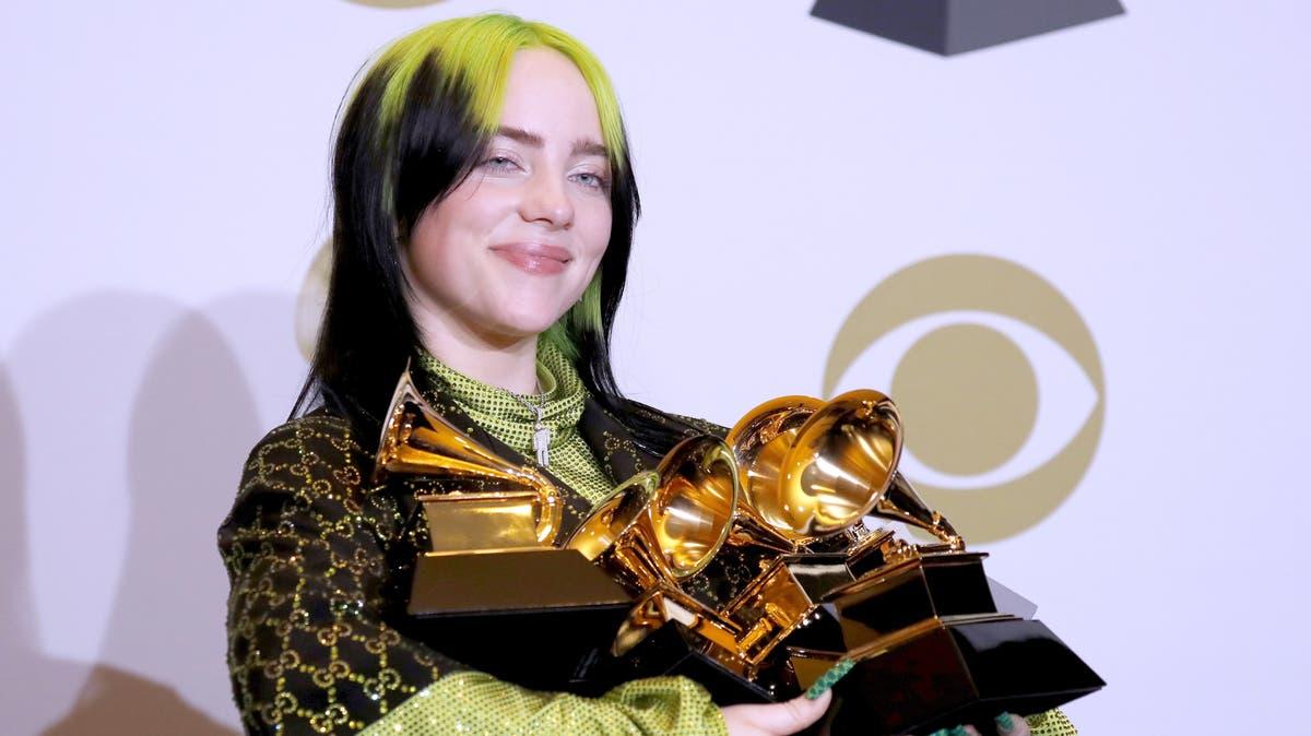 Billie Eilish räumt bei Grammys ab – Gedenken an Kobe Bryant