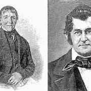 Stammvater der Nesslauer Familie Kuhn war Johannes Kuhn-Hässig (links). Heinrich Kuhn war einer seiner vier Söhne. (Bild: PD)