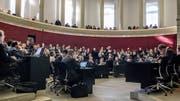 Der Luzerner Kantonsrat während der Sondersession zur Aufgaben- und Finanzreform, über die das Volk am 19. Mai an der Urne abstimmen kann. (Bild: Nadia Schärli, 18. Februar 2019)