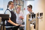 Dank des Case Managements der Klinik St.Anna konnte Céline Waldspurger trotz Unfallfolgen wieder arbeiten. (Bild: Nadja Schärli, Luzern, 13. Juni 2019)