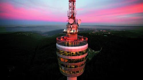 Der Fernsehturm gilt als ein Wahrzeichen der Süddeutschen Stadt. (Bild: Achim Mende)