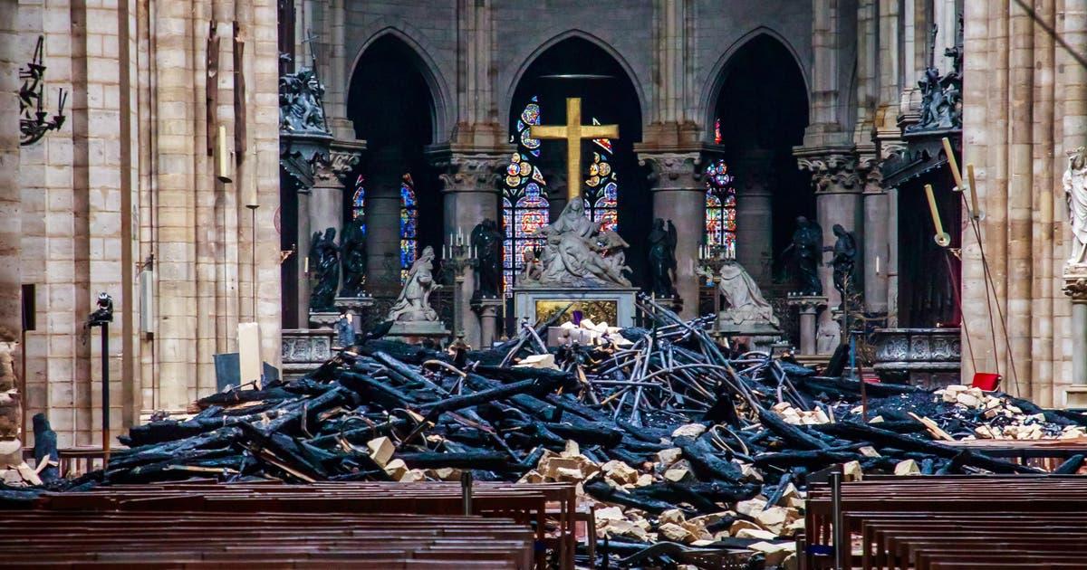 Notre-Dame vor und nach dem Brand: Eine visueller Rundgang