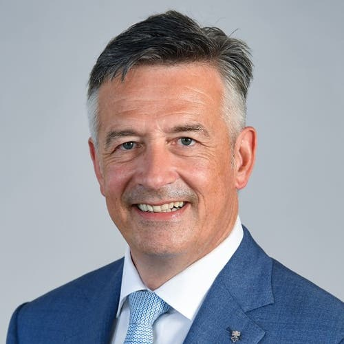 Nidwaldner Ständerat Hans Wicki, seit 2015, FDP, in stiller Wahl bestätigt
