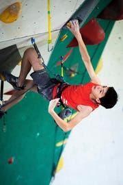 Lukas Zgraggen schaffte sein bisher bestes Ergebnis in der jüngsten Alterskategorie Jugend B. (Bild: David Schweizer, Ostermundigen, Juni 2019)