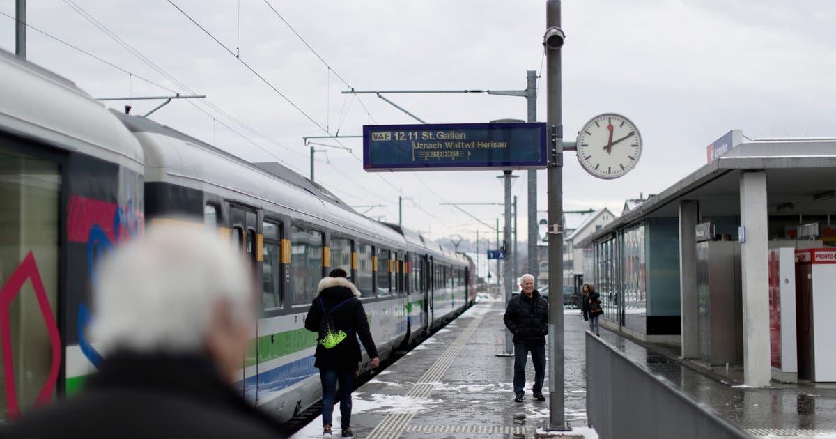 Beschwerde verzögert Projekt zum Doppelspurausbau Uznach-Schmerikon | St.Galler Tagblatt