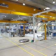 Fabrikationshalle des Maschinenbauers Klingelnberg. (Bild: PD)