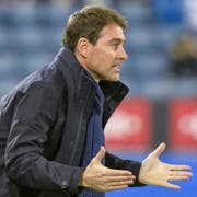 Ciriaco Sforza war 2 Jahre lang (Juli 2006 bis Oktober 2008) Trainer des FC Luzern. Dann wurde er entlassen. (Bild: Philipp Schmidli)