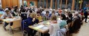 Nach der Hauptversammlung gab es genügend Gelegenheit, sich auszutauschen und die frohe Runde zu geniessen. (Bild: PD)