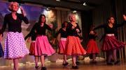 Der Damenturnverein schwingt das Tanzbein. (Bilder: Manuela Olgiati)