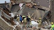 Mehrere Gebäude wurden bei der Explosion zerstört. (Bild: zvg)