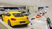 Unzählige Flitzer gibts im Porsche-Museum zu bestaunen. (Bild: PD)