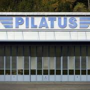 Wurde in Saudi-Arabien thematisiert: Der Fall um den Flugzeughersteller Pilatus. (Bild: Urs Flüeler/Keystone, Stans, 21. Oktober 2013)