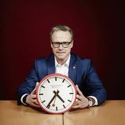 SBB-Chef Andreas Meyer redet im Interview Klartext. (Bild: Christian Schnur/Keystone)