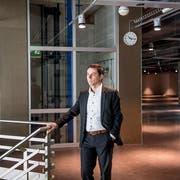 Die grosse Leere: Walter Baumann, Leiter Bau/Immobilien bei der Migros Luzern im ehemaligen MParc. (Bild: Nadia Schärli (Ebikon, 11. Januar 2019))
