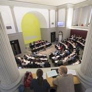 Blick in den Luzerner Kantonsratssaal. (Archivbild: Luzerner Zeitung)