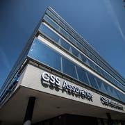 Der CSS-Hauptsitz in Luzern. (Bild: Boris Bürgisser, 24. April 2017)
