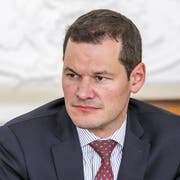 Noch nicht aus dem Schneider: Pierre Maudet (FDP). (KEYSTONE/Salvatore Di Nolfi)