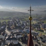 Blick auf die Gemeinde Ruswil. (Bild: Pius Amrein, 22. November 2018)