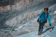 Schnee, Felsen und dünne Luft: Hier fühlt sich Damian Göldi wohl. (Bild: PD)