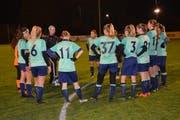 Die Anweisungen von Trainer Vitor Domgjoni konnten die Spielerinnen nur teilweise umsetzen. (Bild: Beat Lanzendorfer)