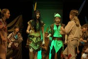 Die Juventus Singers Beromünster führen das Stück «Peter Pan» auf. (Bild: Hannes Bucher)