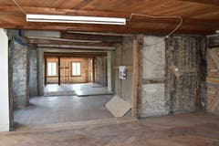 In den grossen Räumlichkeiten sind die verschiedenen Bausubstanzen zu sehen. (Bild: PD/Doris Warger)