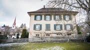 Die Kirchgemeinde liess das Pfarrhaus in den Jahren 1828/29 erbauen. (Bild: Andrea Stalder)
