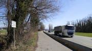 Trotz Verbotstafel sind die Parkstreifen an der Burietstrasse immer wieder mit Müll und Fäkalien verdreckt worden. Zum Teil wurden gar rostende Autos abgestellt. (Bild: Marco Cappellari)