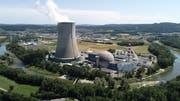 Das Kernkraftwerk Gösgen musste am Freitagmorgen ausgeschaltet werden. (Bild: Bruno Kissling)