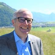 Alois Bissig (62, Bild) fordert den einzigen Nidwaldner Nationalrat Peter Keller von der SVP heraus. Der CVP-Politiker aus Ennetbürgen will stille Wahlen verhindern. (Bild: Romano Cuonz, Allweg, 3. Juni 2019)