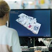 Die Plattform newhome.ch, getragen von 18 Kantonalbanken, bietet 360-Grad-Virtual-Reality-Touren durch Liegenschaften an. (Bild: Getty)
