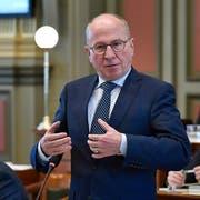 Fredy Fässler, Sicherheits- und Justizdirektor des Kantons St.Gallen. (Bild: Regina Kühne)