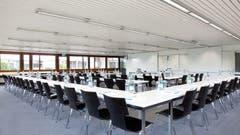 Der Plenarsaal ist einer der flexibel buchbaren Seminarräume. (Bild: PD)