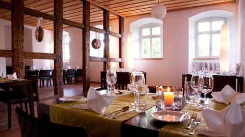 Die marktfrische Küche geniesst der Gast in stilvollem Ambiente. (Bild: PD)
