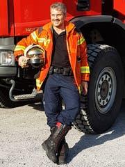 Der Goldacher Feuerwehrkommandant Robert Fuchs übernimmt im Mai in Rheineck-Lutzenberg-Thal. (Bild: PD)