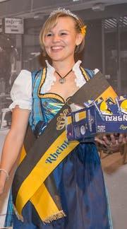 Die amtierende Bierkönigin Nadja Stillhard wird am 31.August ihre Krone weiterreichen.