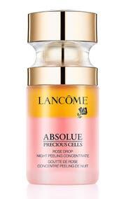 Regeneriert und glättet: das Konzentrat Absolue Rose Drop Night Peeling von Lancôme (130 Franken)