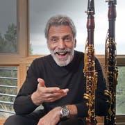 Klarinettist Eddie Daniels konzertiert im «Thurgauerhof». (Bild: PD)