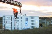 Mit mobilen Mining-Containern wollte Envion Geld verdienen. (Bild: PD)