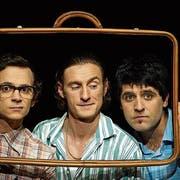 Das Trio «i tre secondi» mit Federico Dimitri, Fabrizio Pestilli und Giuseppe Spina tritt am Samstag in Weinfelden auf. (Bild: PD)