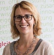 Birgit Berger-Cantieni, Schulratspräsidentin Maitlisek (Bild: PD)