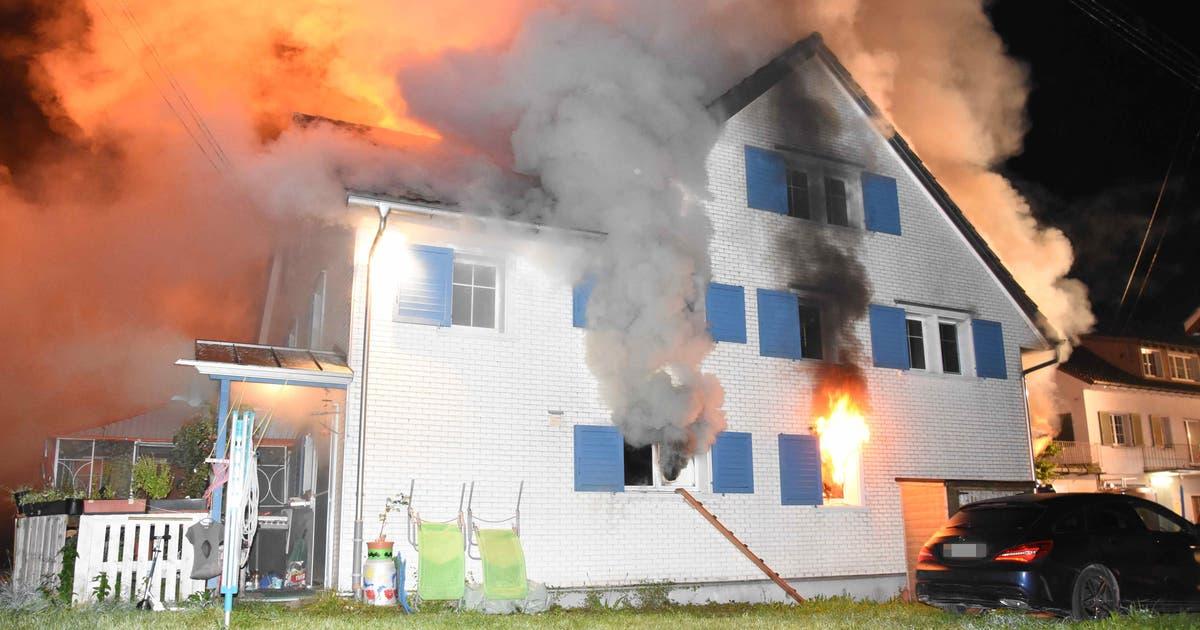 Bütschwiler Gemeindepräsident nach Brand: «Der Schock sitzt tief, die ganze Gemeinde ist betroffen»