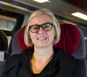 Bisher nicht angefragt: Jeannine Pilloud, ehemalige Leiterin Personenverkehr der SBB, seit kurzem Chefin von Ascom. (Bild: Keystone/Patrick B. Kraemer)