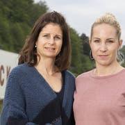 Franziska (links) und Alexandra Nock: «Der Zirkus war unser Leben. Er wird uns sehr fehlen, vor allem das Leben auf Achse.» (Bild: Alex Spichale / CH Media)