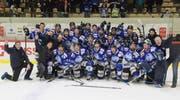 Die Mannschaft des HC Luzern. (Bild: PD)