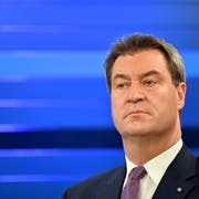 Ministerpräsident Markus Söder. (Bild: Keystone)