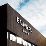 Die Bauwerk Boen Group mit der Bauwerk Parkett AG am Hauptsitz in St.Margrethen hat ihre Profitabilität gesteigert. (Bild: Benjamin Manser (18. Januar 2018))